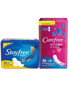 Stayfree or Carefree Coupon