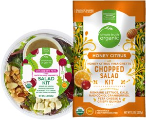 When you buy ONE (1) Simple Truth Organic Salad Kit or Salad Kit Bowl, 4.5oz - 7.8oz, in Produce - Kroger Coupon