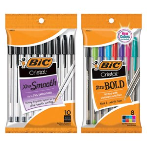 when you buy TWO (2) BIC Cristal, Round Stic or Wite-Out Products, any size - Kroger Coupon