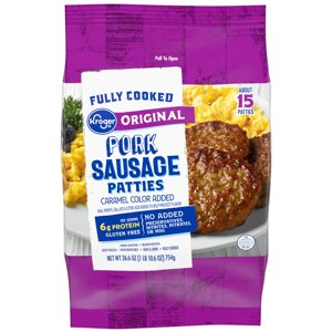 When you buy ONE (1) Kroger Frozen Sausage, any variety (21-27 oz) - Kroger Coupon